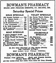 St Joseph drug stores of the past